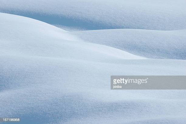 Powder snow background landscape