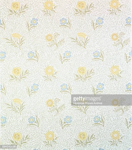Powdered Wallpaper by William Morris