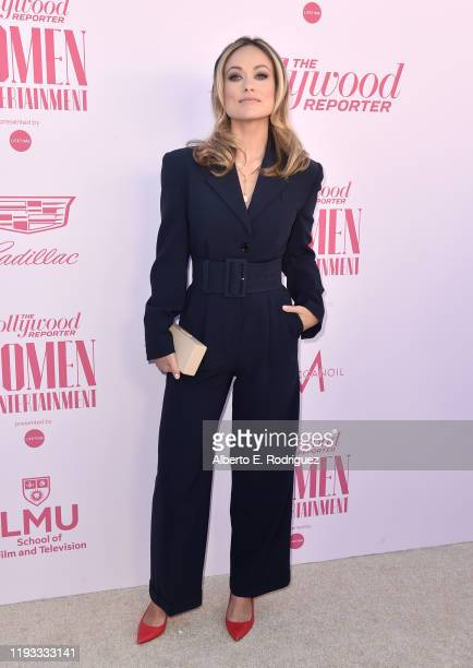 Power 100 Guest Editor Olivia Wilde attends The Hollywood Reporter's Power 100 Women in Entertainment at Milk Studios on December 11, 2019 in...