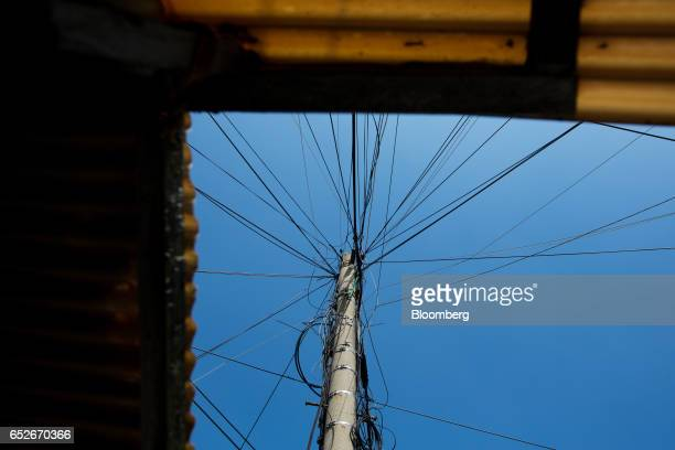 Telegraph Pole Stock Photos and Pictures |