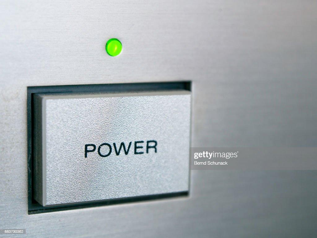 Power Button : Stock-Foto
