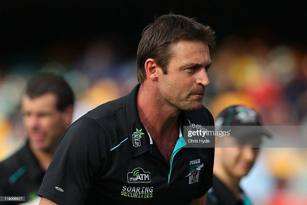 AFL Rd 15 - Brisbane v Port Adelaide