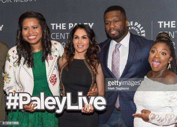 'Power' Creator Courtney A Kemp Lela Loren Curtis 50 Cent Jackson and Naturi Naughton attend An Evening With The Cast And Creative Team Of Power at...