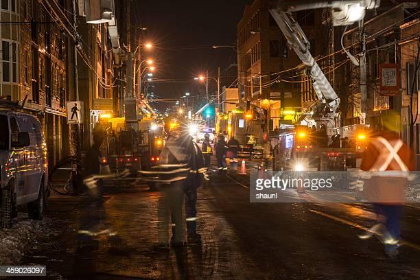 Power Crews auf Gottingen Street