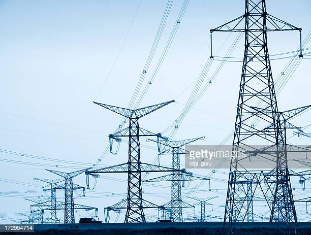 power crisis - hydroelectric power station stock photos and pictures