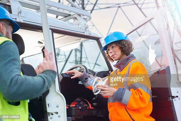 power engineers in the field