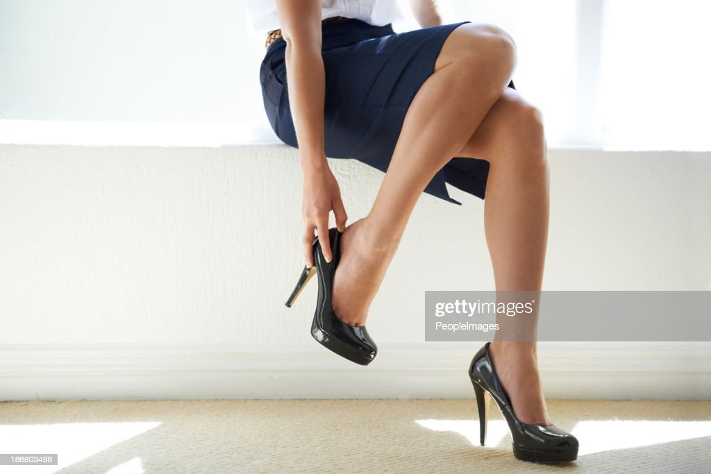 Power heels : Stock Photo