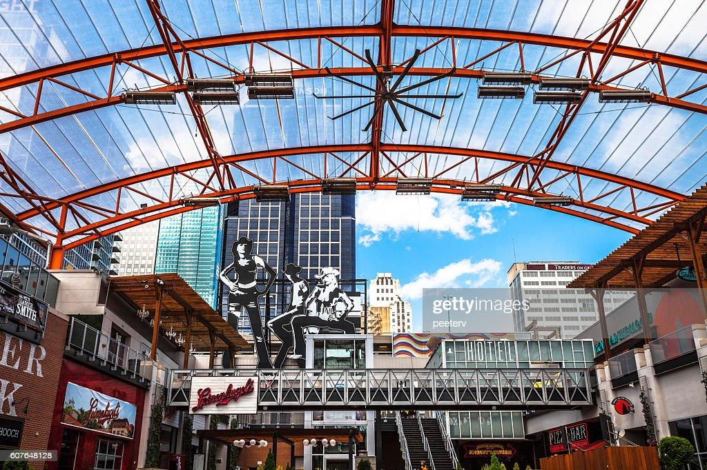 Power & Light entertainment district, Kansas City. : Foto de stock