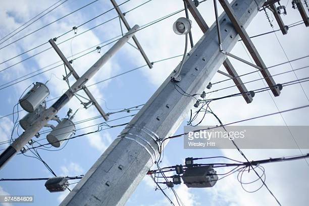 Power lines and electricity