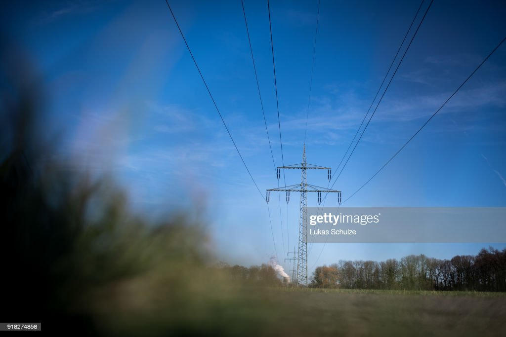 Power lines lead to the RWE Kraftwerk Westfalen coal-fired power plant on February 14, 2018 near Hamm, Germany. The plant uses bituminous coal and has a combined output of 1600 MW. Germany, which despite massive investments in renewable energy sources, is still dependent on coal. Political leaders have admitted Germany will be unable to meet its ambitious CO2 reduction goals for coming years.