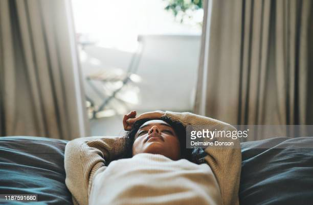 a power nap is just what i need - bed stock pictures, royalty-free photos & images