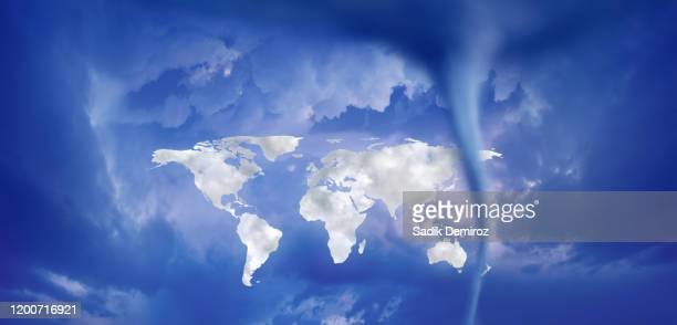 power of climate change - meteorology stock pictures, royalty-free photos & images