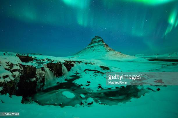 Power of nature : Amazing Northern lights in Iceland