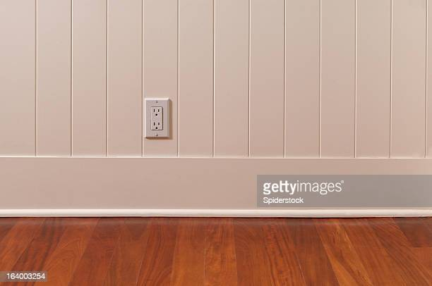 Power Outlet In Empty Room