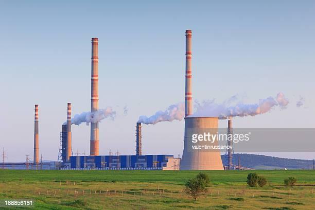 Power Plant and haze
