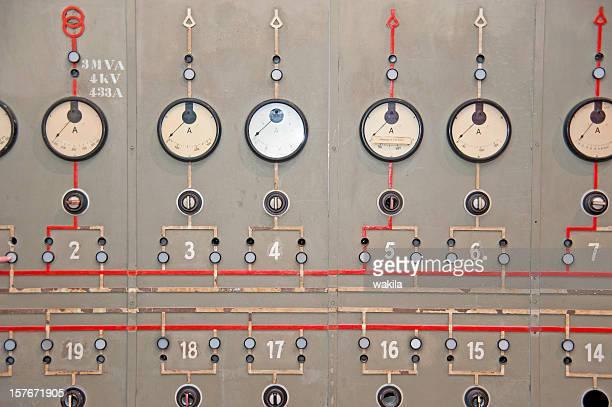 power plant console panel - Altes Kraftwerk