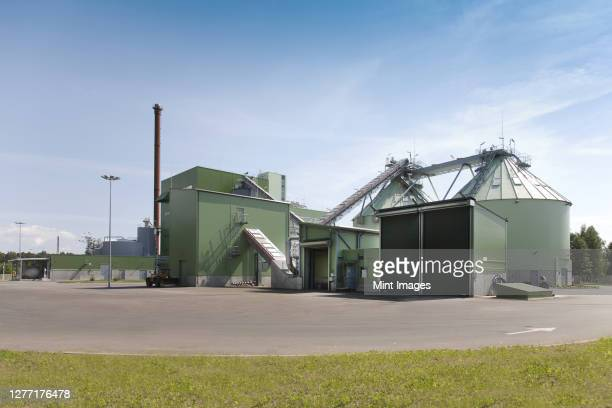power plant exterior - power supply stock pictures, royalty-free photos & images