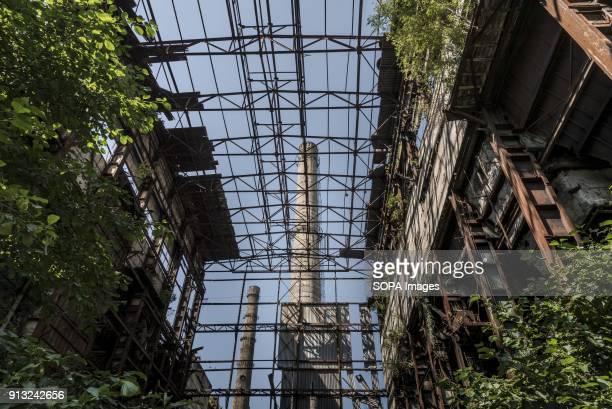 TSKVARCHELI TKVARCHELI ABCHAZIA GEORGIA Power plant in the abandoned Soviet coal mining city of Tkvarcheli Abkhazia is a partially recognized state...
