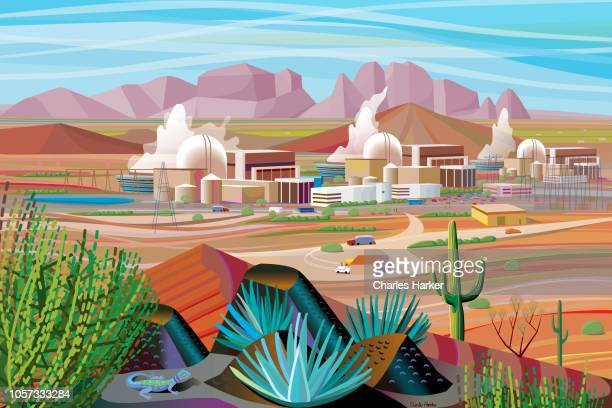Power Plant in the Desert