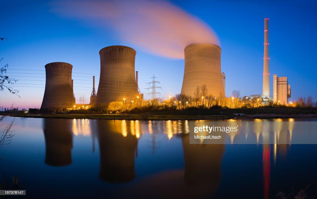 Power Plant Panorama : Stock Photo