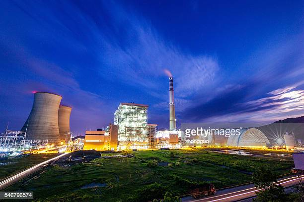 power plant - coal fired power station stock photos and pictures