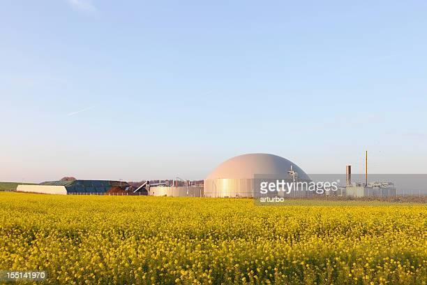 Kraftwerk mit bio gas-generator