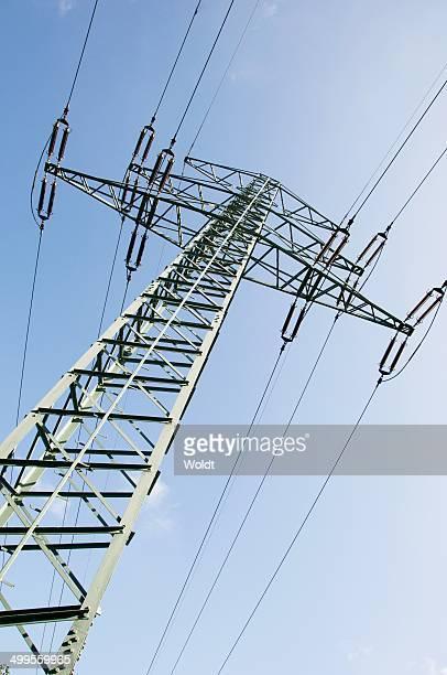 A power pole in Hamburg