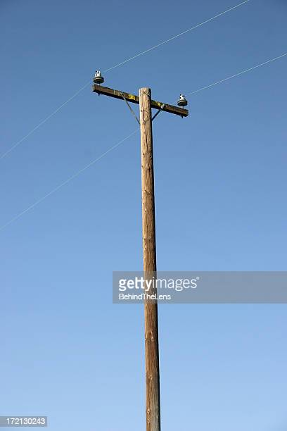 power pole - pole stock pictures, royalty-free photos & images
