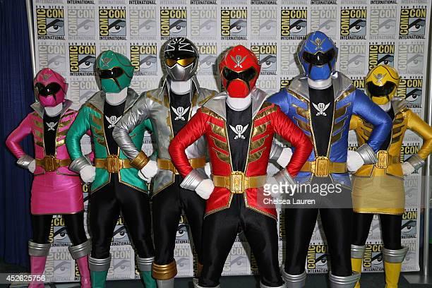 Power Rangers Super Megaforce Make A SUPER MEGA Impression At The Opening Of ComicCon International 2014
