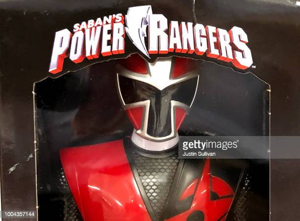 Power Rangers toy is displayed at a Target store on July 23 2018 in San Rafael California Hasbro Inc reported better than expected secondquarter...