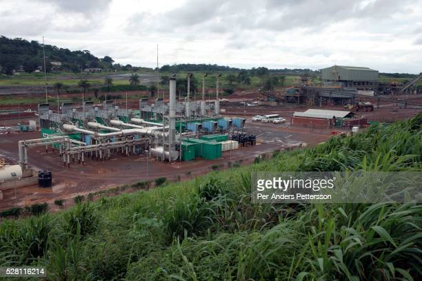 A power station built and ran by USPE Global for an iron oremine owned by London mining in Marampa Sierra Leone The power station runs on heavy fuel