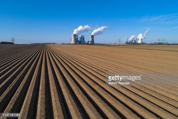 power station, grevenbroich, germany, europe - north rhine westphalia stock pictures, royalty-free photos & images