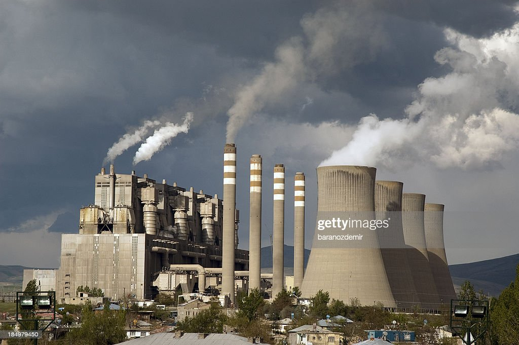 Power Station : Stock Photo