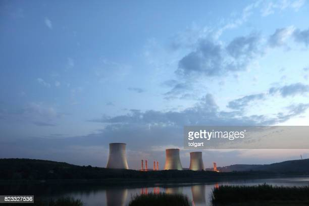 power station - nuclear reactor stock pictures, royalty-free photos & images