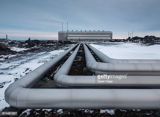 Power station, Reykjanes in Iceland