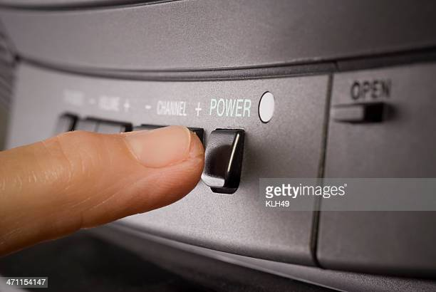 Power switch on Television