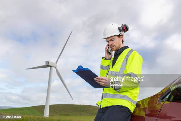 power systems engineer on site - jacket stock pictures, royalty-free photos & images