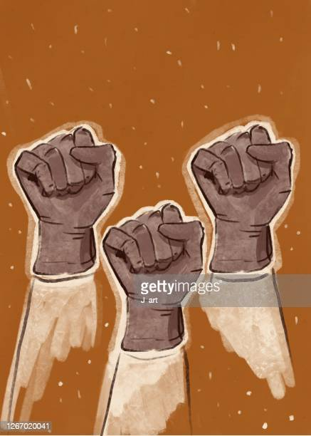 power to the people! - black lives matter stock pictures, royalty-free photos & images