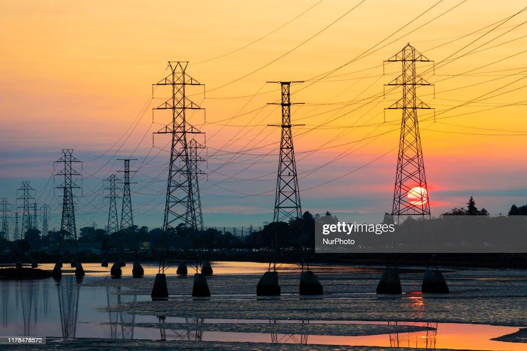 California power shutoff : Nieuwsfoto's