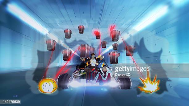 MOTORCITY 'Power Trip' Disney XD is set to premiere 'Motorcity' a turbocharged animated series set in a futuristic Detroit controlled by an evil...