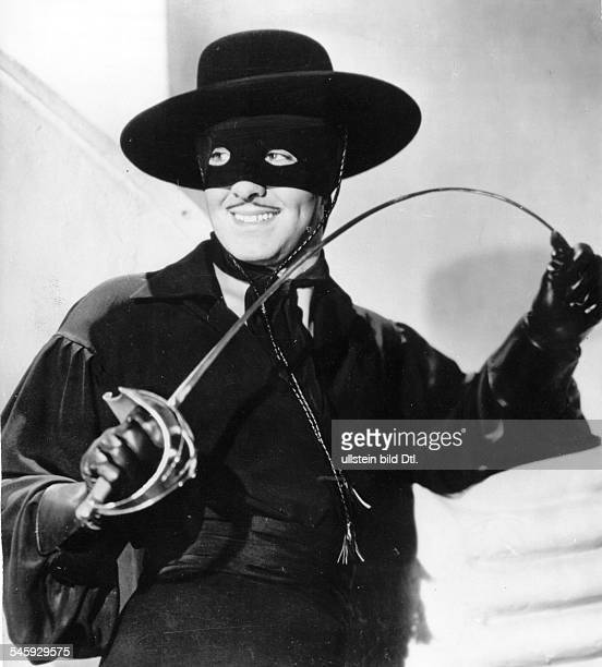 Power Tyrone Actor USA * Scene from the movie 'The Mark of Zorro'' Directed by Rouben Mamoulian USA 1940 Produced by Twentieth Century Fox Vintage...