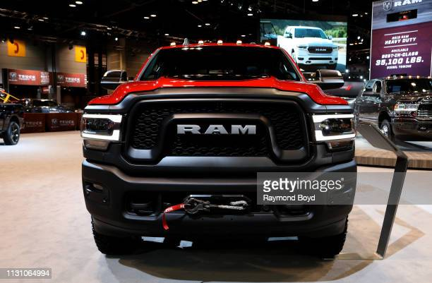 Power Wagon is on display at the 111th Annual Chicago Auto Show at McCormick Place in Chicago, Illinois on February 8, 2019.