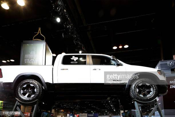 Power Wagon is on display at the 111th Annual Chicago Auto Show at McCormick Place in Chicago Illinois on February 8 2019