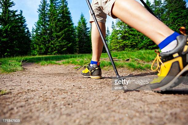 power walking - striding stock pictures, royalty-free photos & images