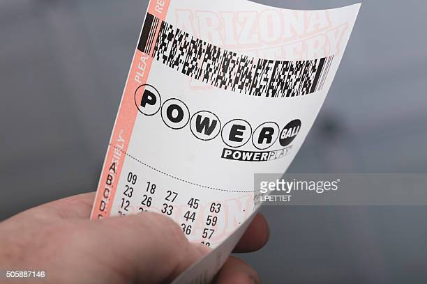 powerball - lottery ticket stock pictures, royalty-free photos & images