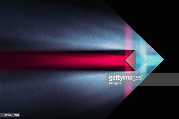 powerful and colorful light refraction - stir crazy stock photos and pictures