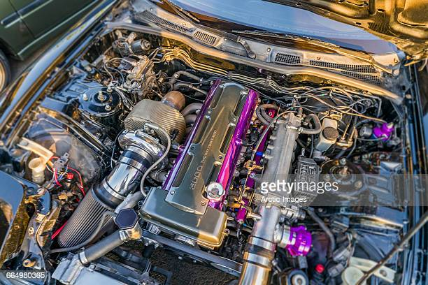 Powerful car engine