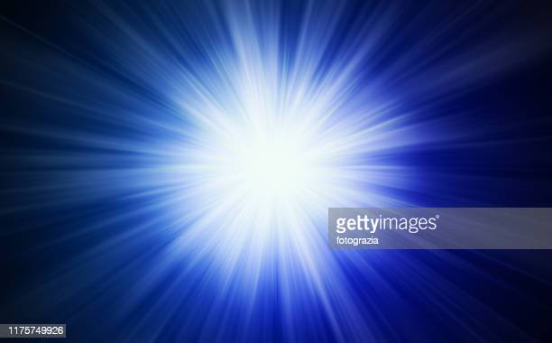 powerful light in the dark - flash stock pictures, royalty-free photos & images