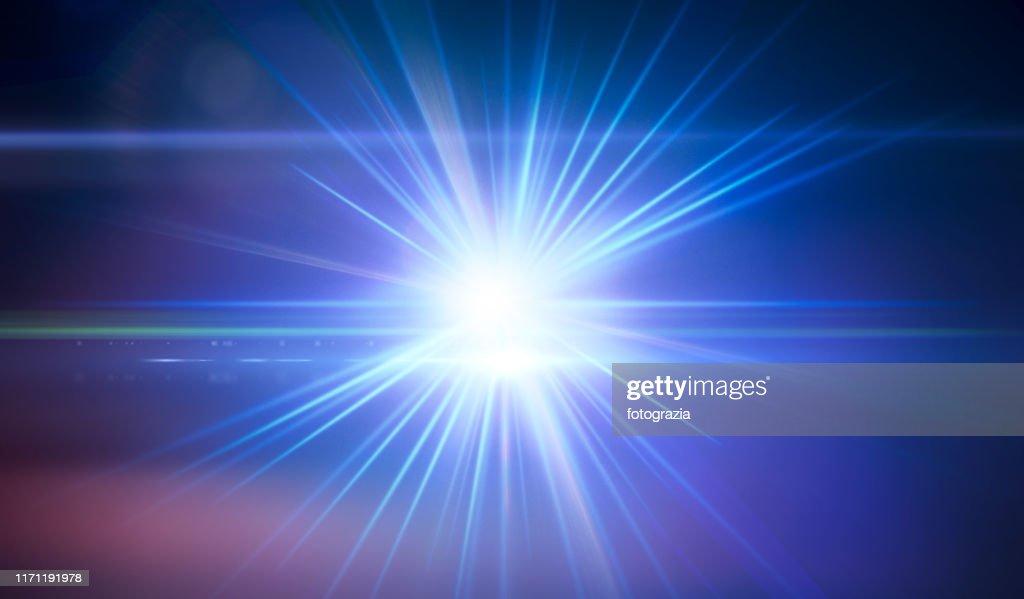 Powerful Light : Stock-Foto
