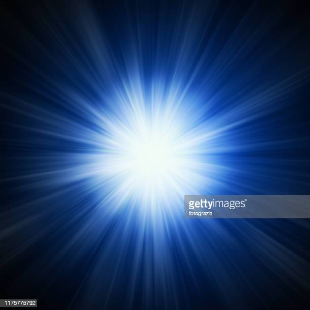 powerful light - lens flare stock pictures, royalty-free photos & images